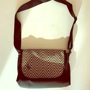Timbuk2 Messenger Bag GUC Black & Cream